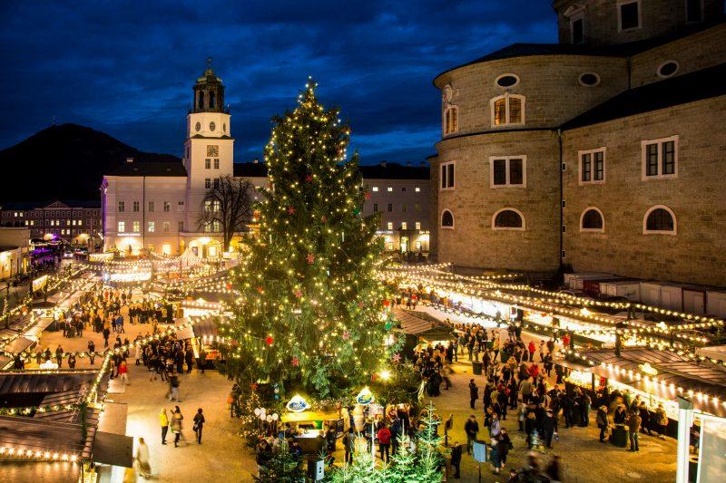 Рождественские праздники в Зальцбурге