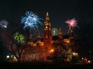 Вена готовится встретить Новый год танцами, концертами и салютом.