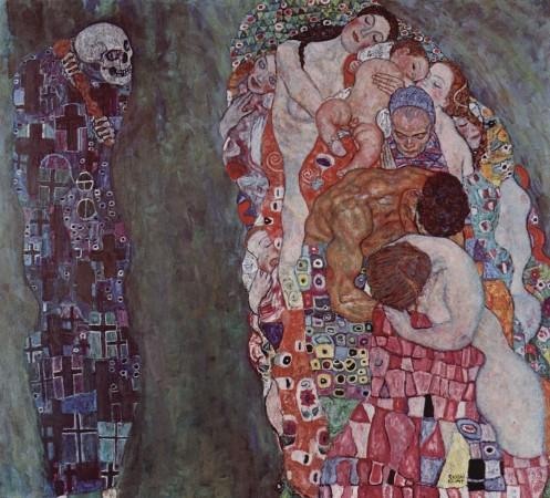 """Густав Климт  """"Жизнь и смерть"""""""