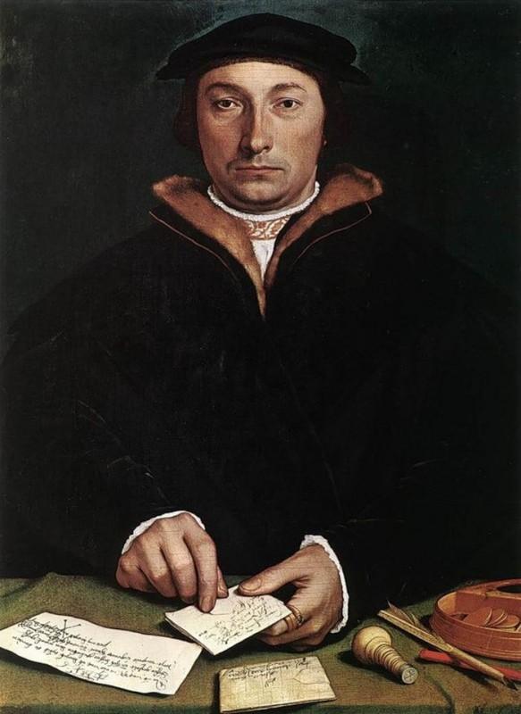 Ганс Гольбейн Младший Портрет Дирка (1533г.) Музей истории искусств, Вена