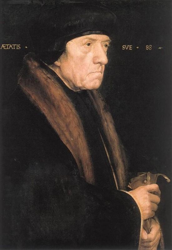 Ганс Гольбейн Младший Портрет Джона Чемберса (1541г.) Музей истории искусств, Вена