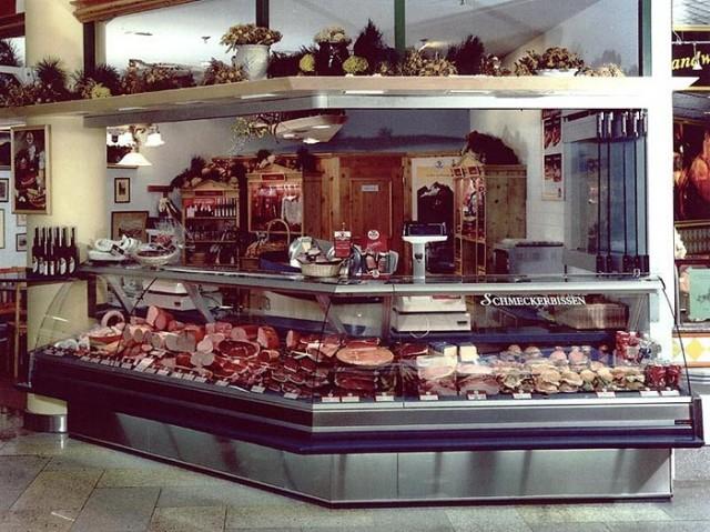 Мясной магазин в Вене