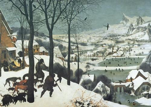 "Питер Брейгель Старший ""Охотники на снегу"" (Pieter Bruegels ""Jäger im Schnee"")"