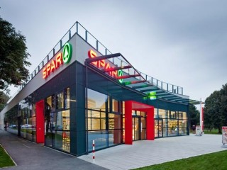 Торговая сеть Spar в Вене