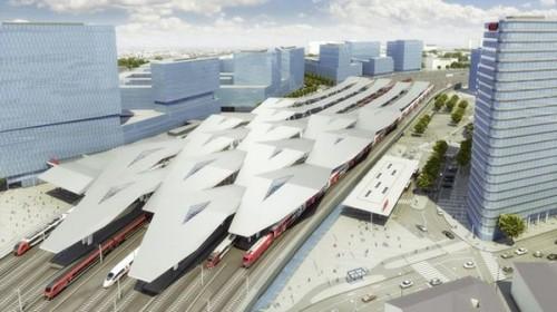 Центральный вокзал в Вене