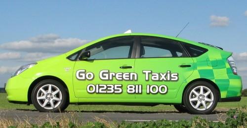 «Зеленое такси» в Вене