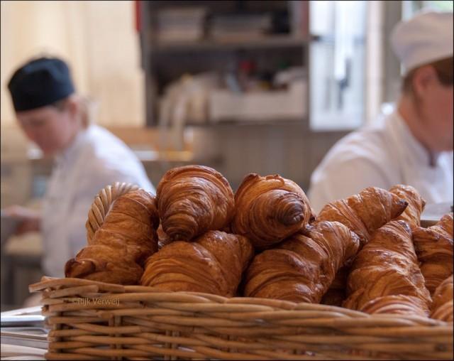 Французский круасан впервые был испечен в Вене