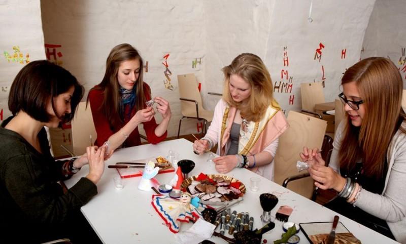 Детское ателье «Мазок кистью» (Atelier Pinselstrich)