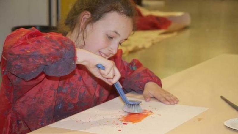 Музей современного искусства (Museum moderner Kunst) привлекает малышей в детский клуб