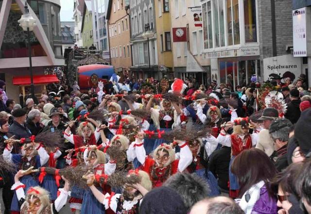 Карнавал в Тироле