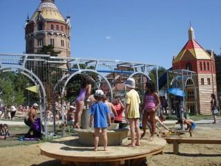 Водный игровой сквер Wasserturm