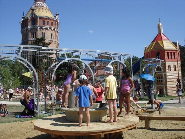 В парке Wasserturm