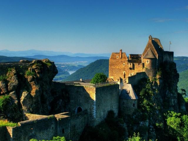Развалины Аггштайновского замка (Ruine Aggstein)