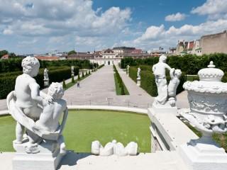 Прогулка соответственно дворцовому парку Бельведер