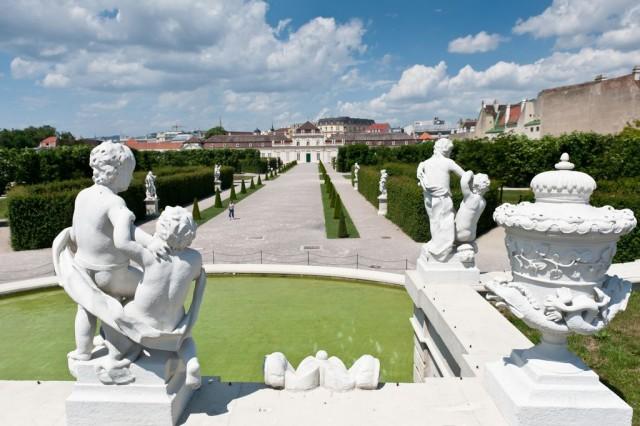 Дворцовый парк Бельведер (Belvederegarten)