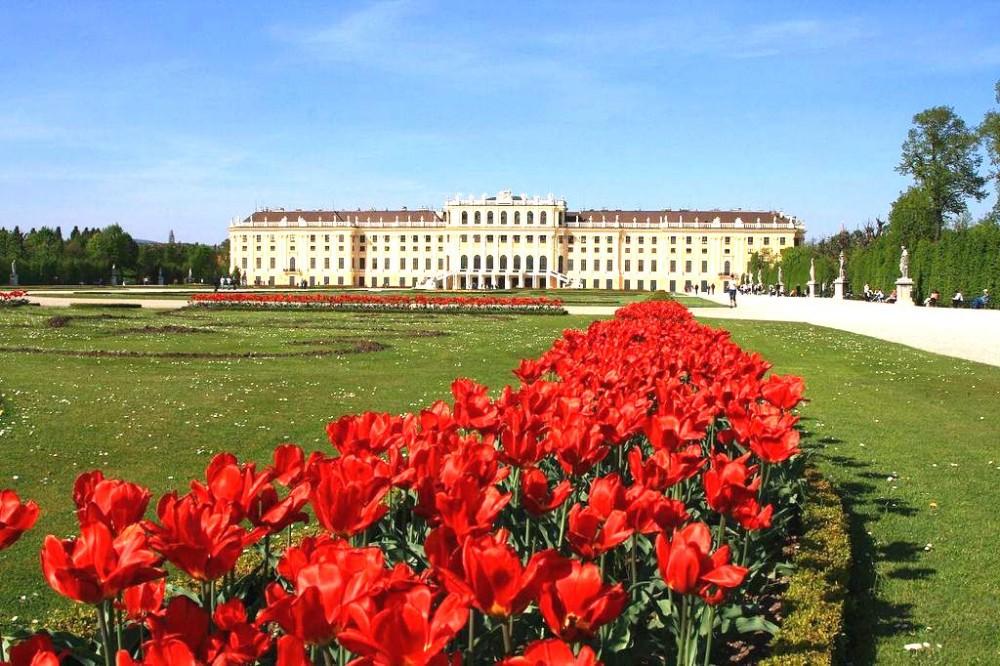 Дворцовый парк Шёнбрунн (Schlosspark Schönbrunn)