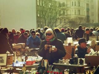 Блошиный рынок Вены