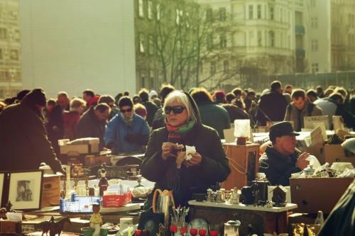 Венский блошиный рынок Naschmarkt