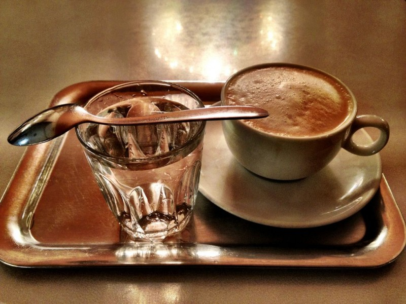 В венских кафе