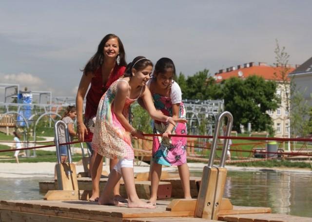Водный игровой парк Wasserturm (Wasserspielplatz Wasserturm)