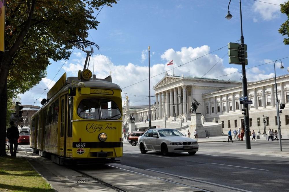 Экскурсионный трамвай по Рингу в Вене