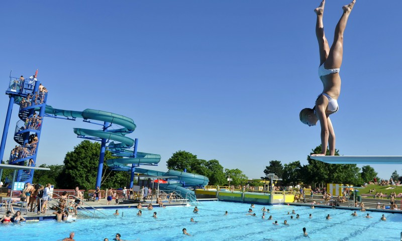 Вена летняя – оазисы для купания и отдыха на воде