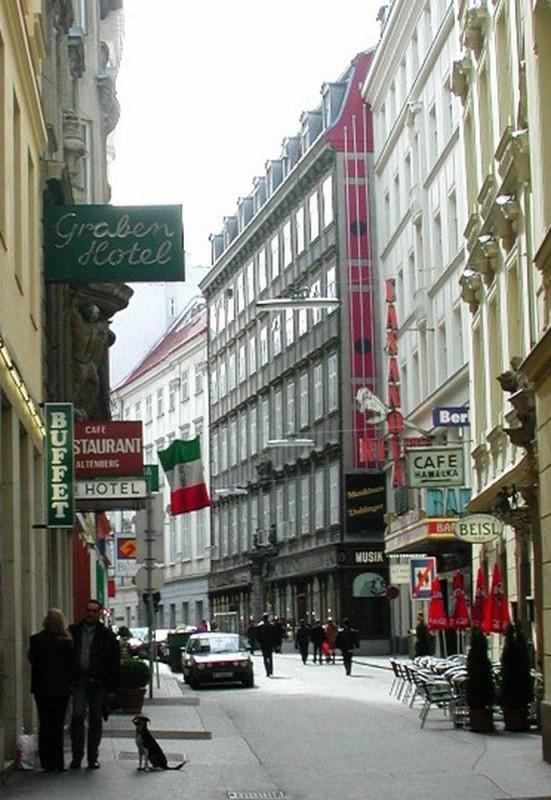 Улица Доротеергассе (Dorotheergasse)