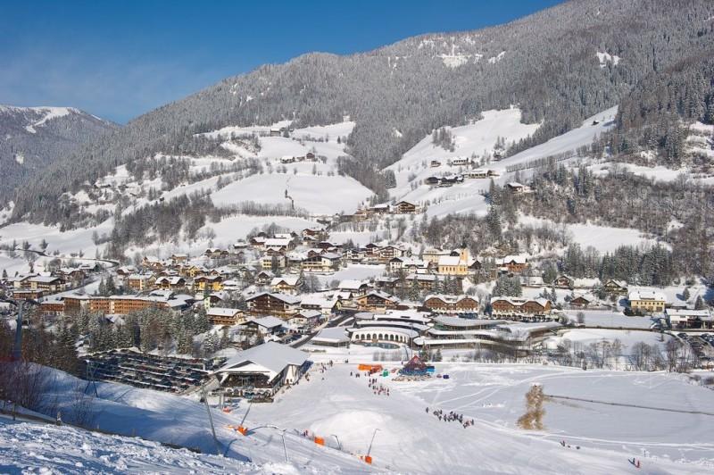 Зимние пейзажи Бад Кляйнкирххайм (Bad Kleinkirchheim)