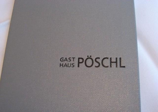 Ресторан «Пёшль» (Gasthaus Pöschl)