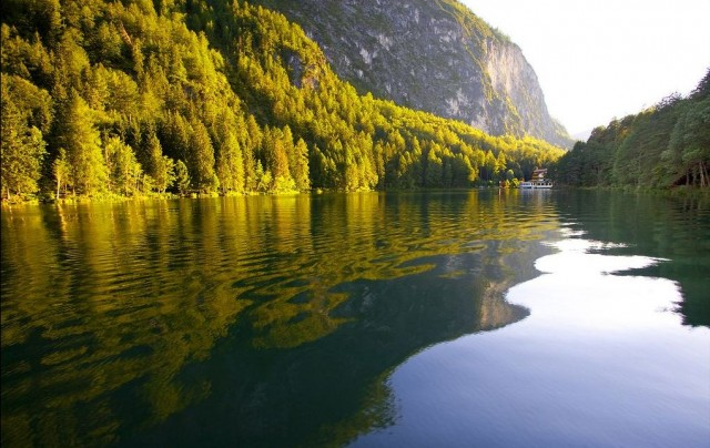 Озеро Тристахер Зее (Tristachersee)