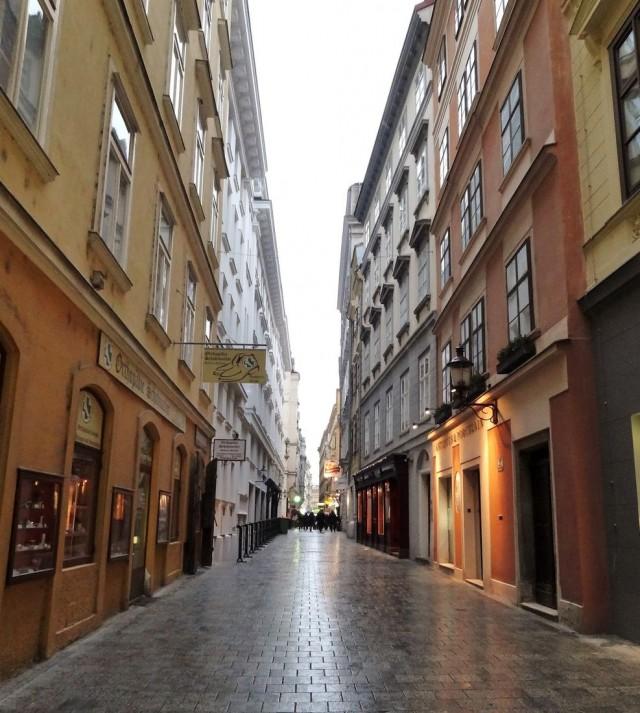 Улица Наглергассе (Naglergasse)
