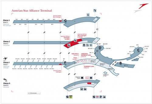 Терминал Austrian Star Alliance