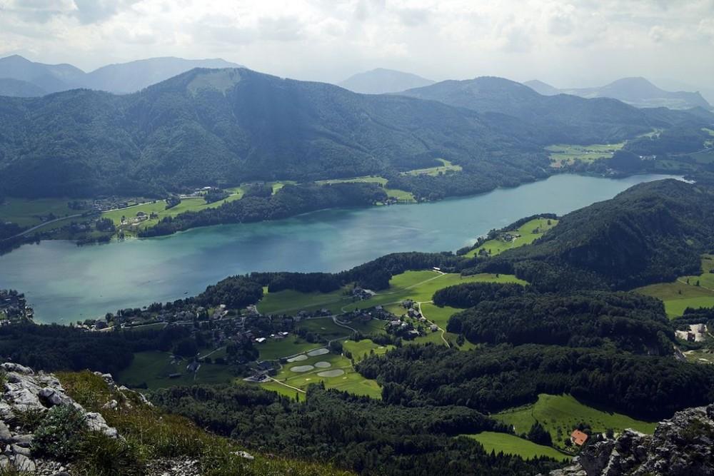 Озеро Фушльзее (Fuschlsee) Австрия