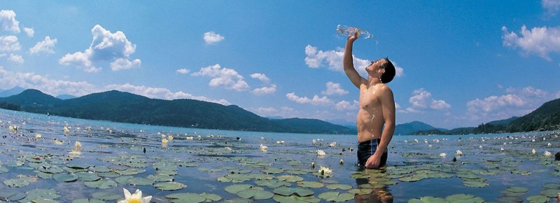 Воду из озера можно пить