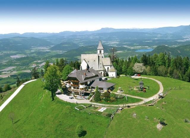 Высокогорная хижина Магдаленсберг (Gipfelhaus Magdalensberg)