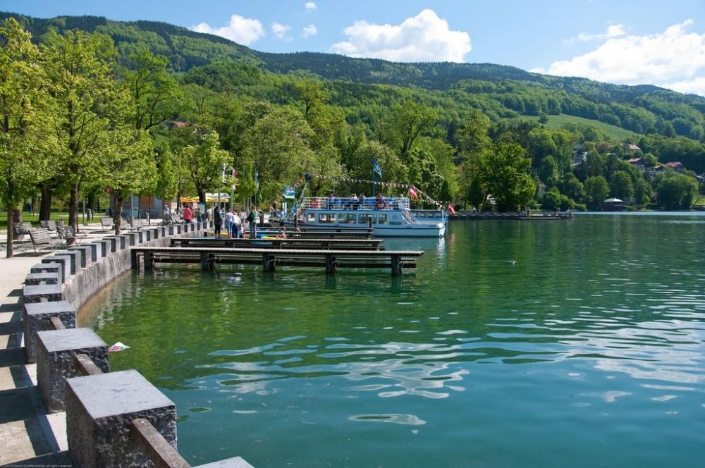 Озеро Мондзее (Mondsee) Австрия