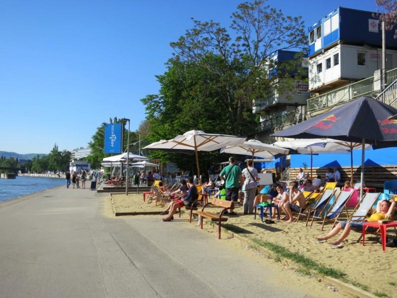 Пляжное кафе Adria Wien