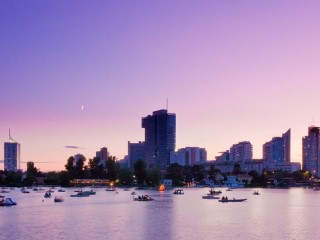 Дунай в Вене – место отдыха