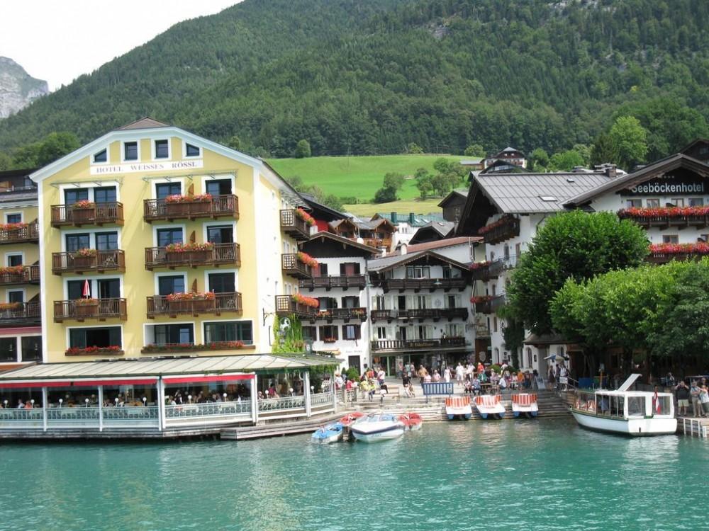 Романтический отель «Im Weissen Rössl»
