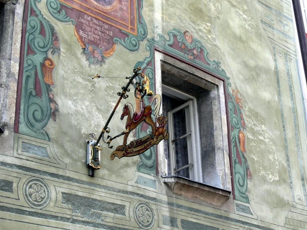 Фрески на домах
