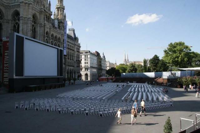 Фестиваль музыкальных фильмов  (Film Festival am Rathausplatz)