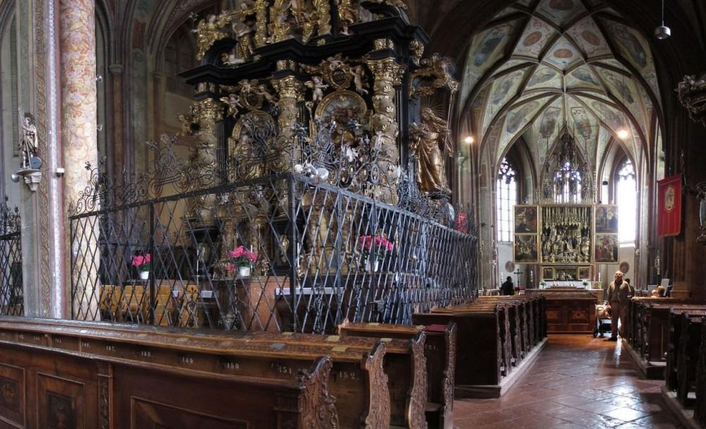 Интерьер церкви св. Вольфганга