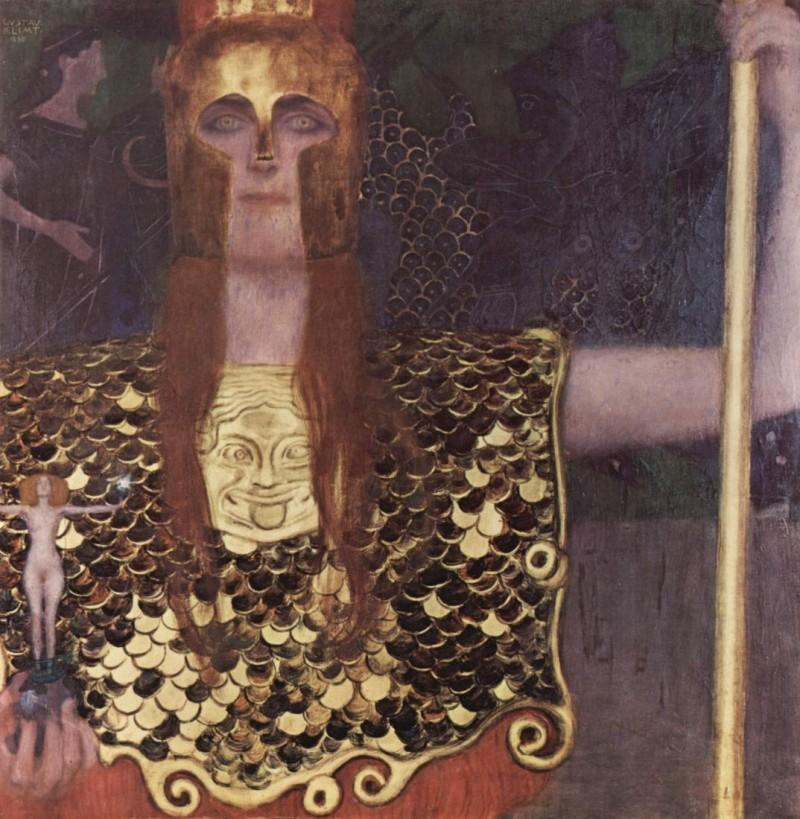 """Густав Климт """"Афина Паллада"""", 1898"""