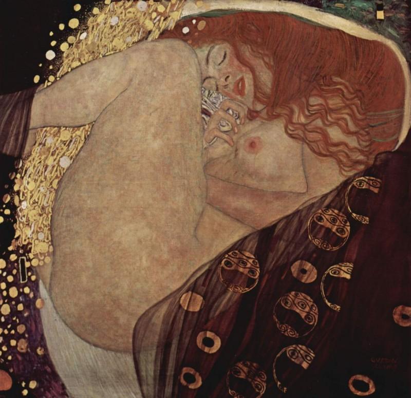 """Густав Климт """"Даная"""", 1907—1908"""