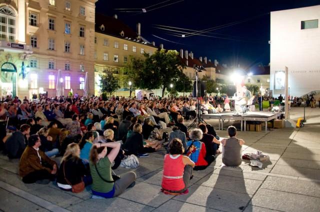 Литературный фестиваль в Вене
