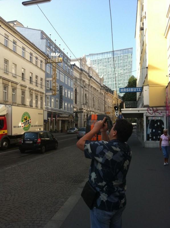 Первый день в Вене