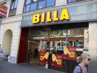 Торговая обмет Billa во Вене