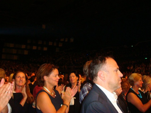 На концерте нашей любимицы Нетребко Анны