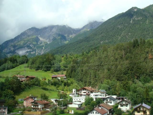 По дороге в Брегенц