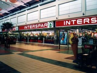 Торговая обмет Interspar на Вене